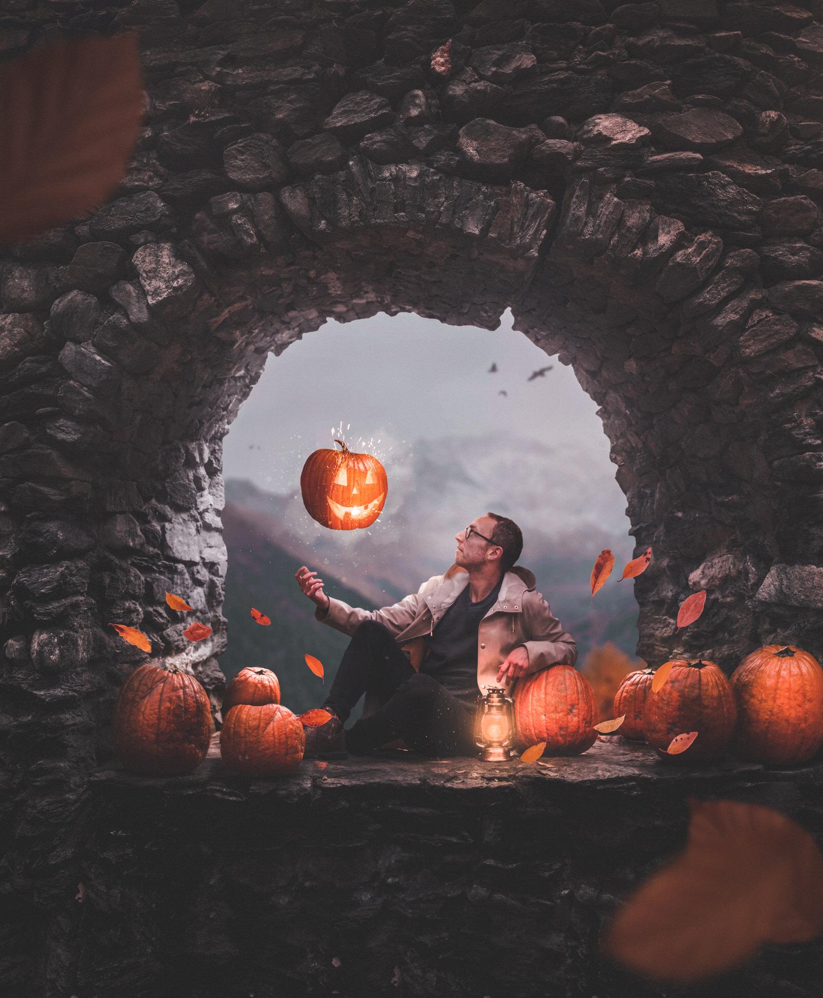 The Great Pumpkin Final Image