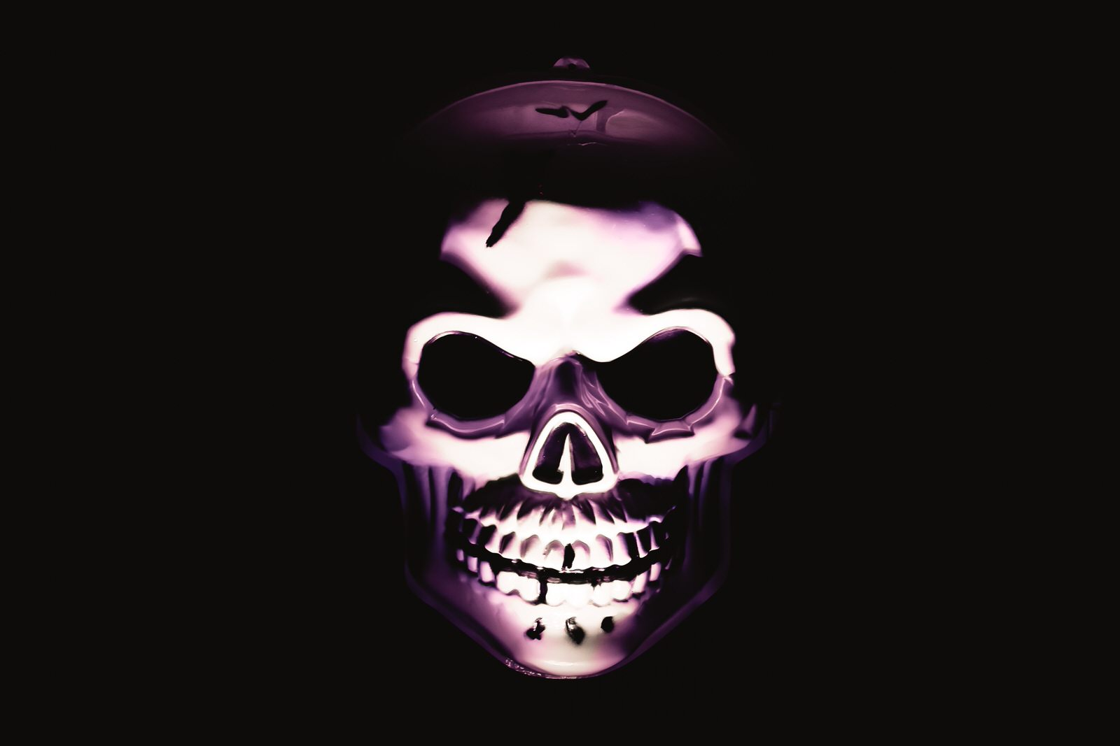 Halloween Skull Photo