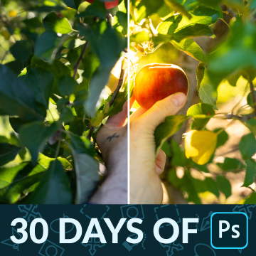 30 days of photoshop how to edit raw images thumbnail