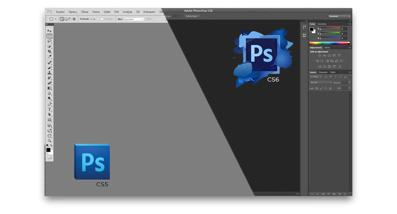 Photoshop CS5 to CS6