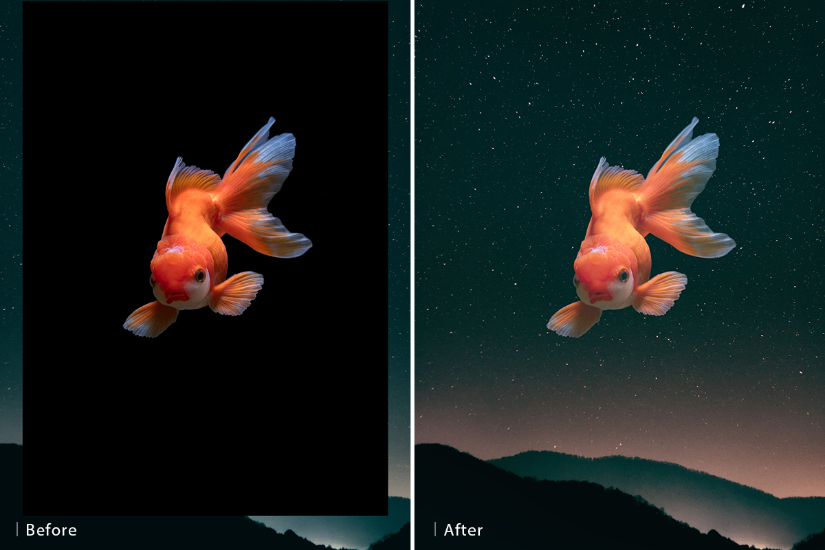 30 days of photoshop blending modes before and after