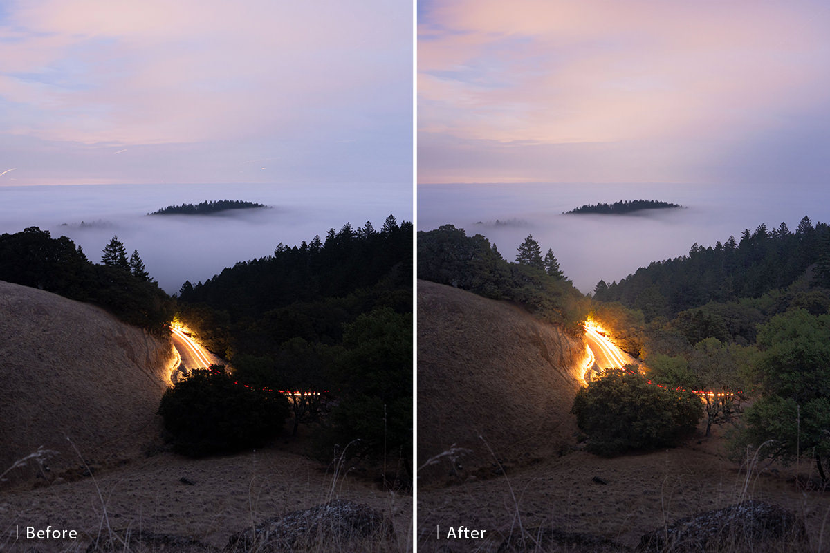 landscape raw processing in photoshop