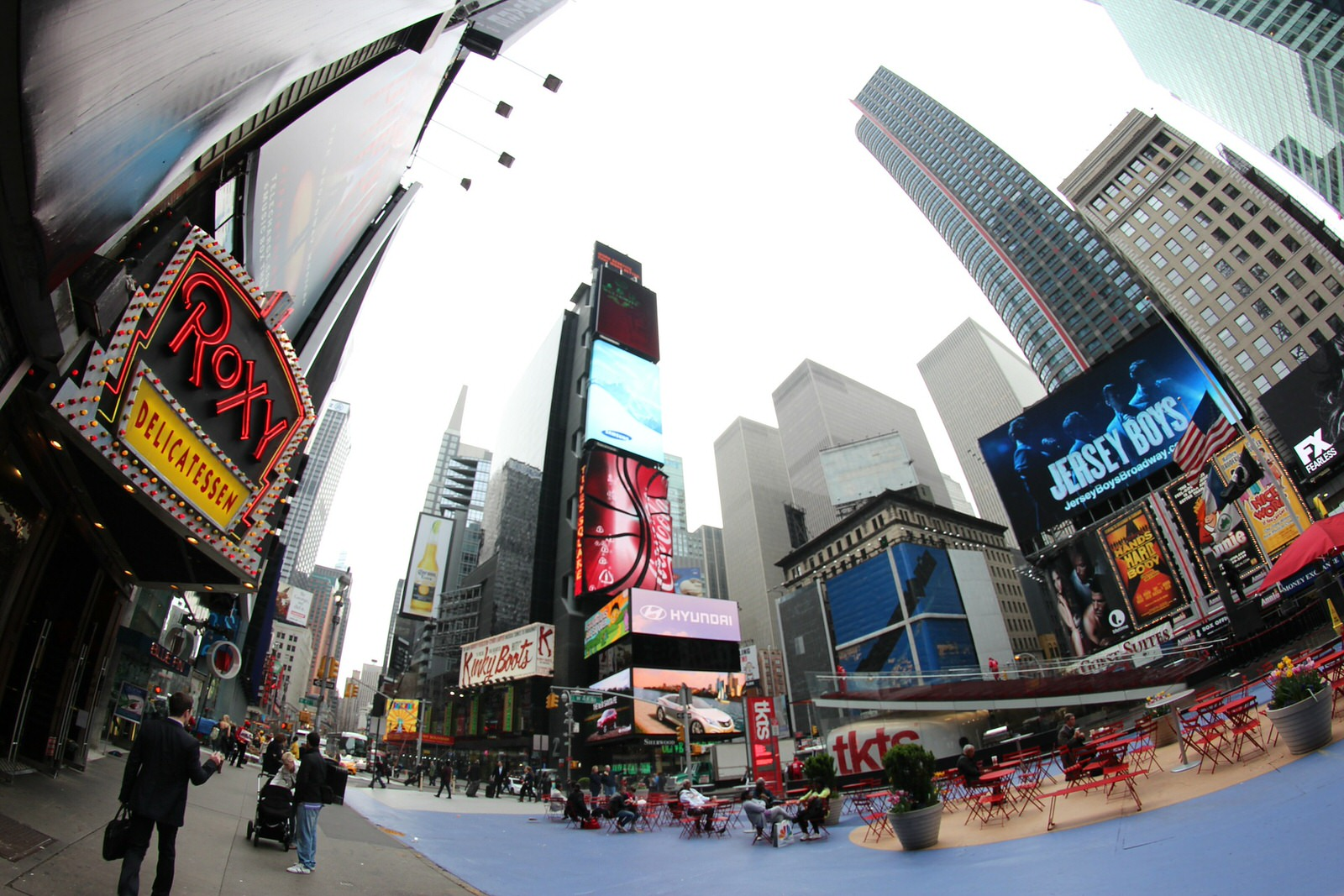 Fisheye Lens Photo