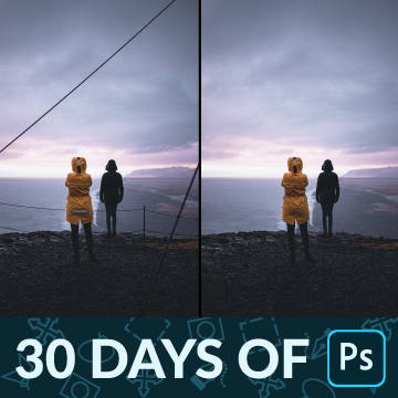 30 days of photoshop remove distractions