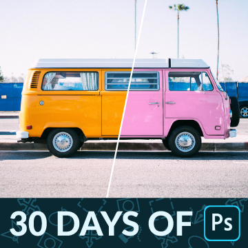 30 days of photoshop change the color of anything