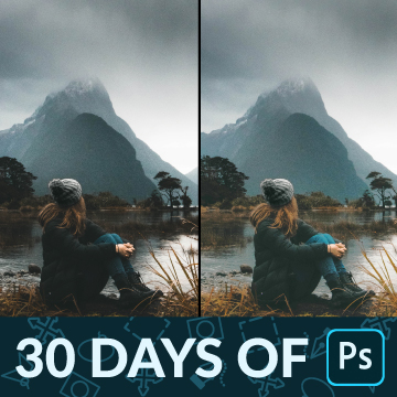 how to correct exposure 30 days of photoshop