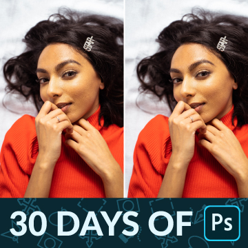 30 days of photoshop how to remove blemishes