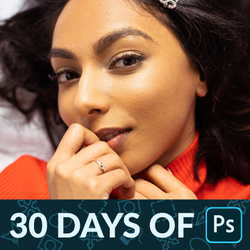 30 days of photoshop frequency separation