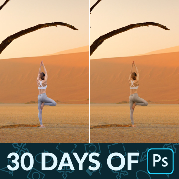 30 days of photoshop match light and color