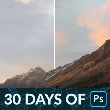 30 days of photoshop how to swap a sky thumbnail