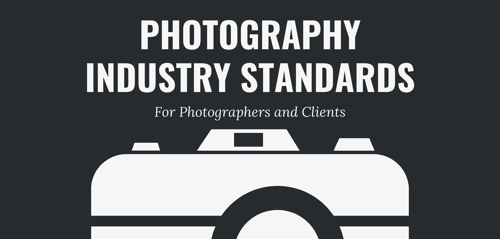 Guide to Industry Standards for Professional Photographers and Their Clients