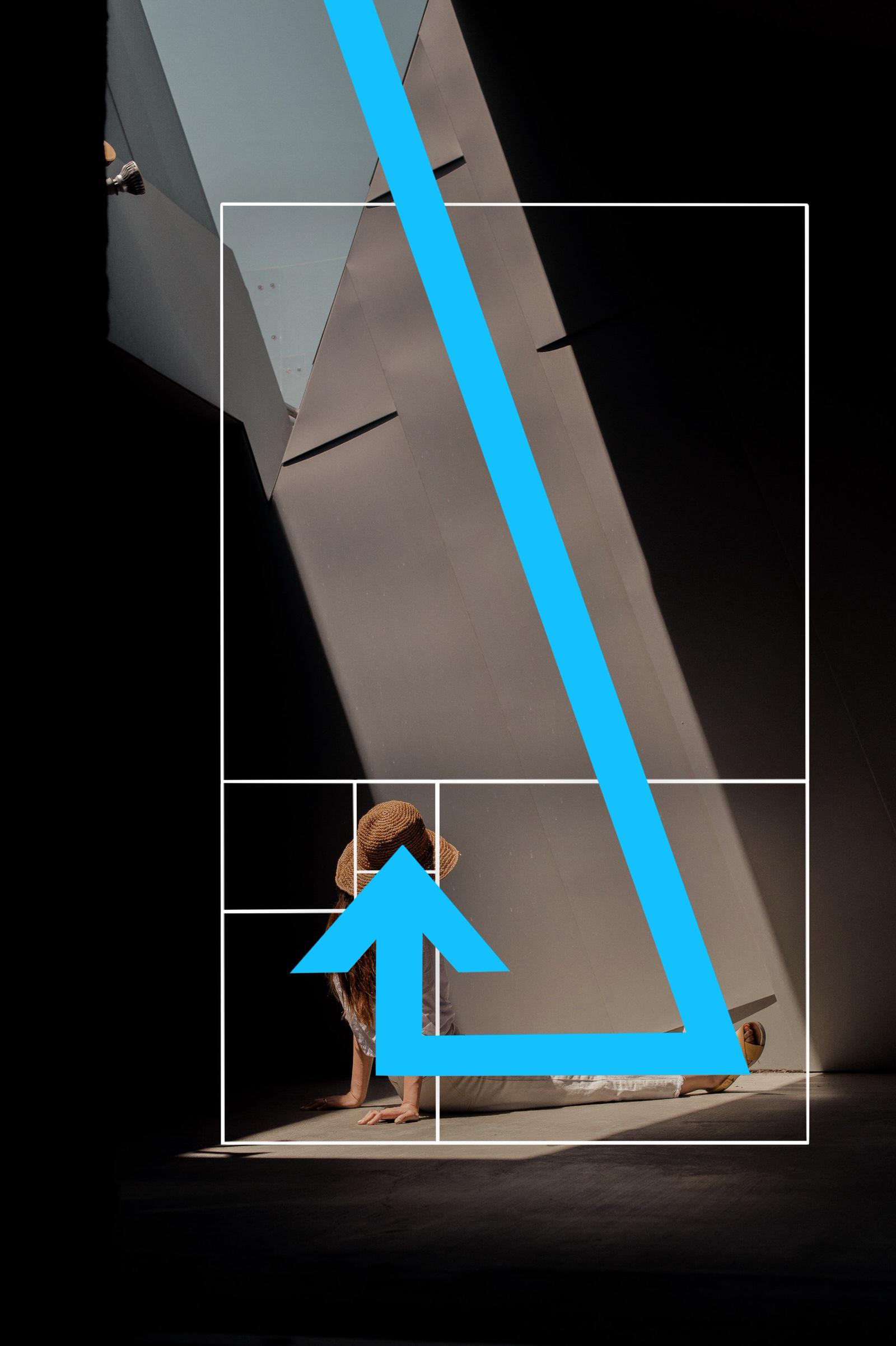 Diagonal Lines Golden Ratio Example