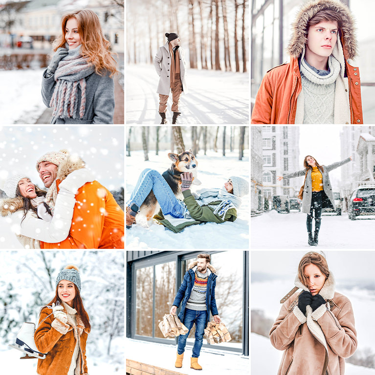 phlearn winter lightroom presets