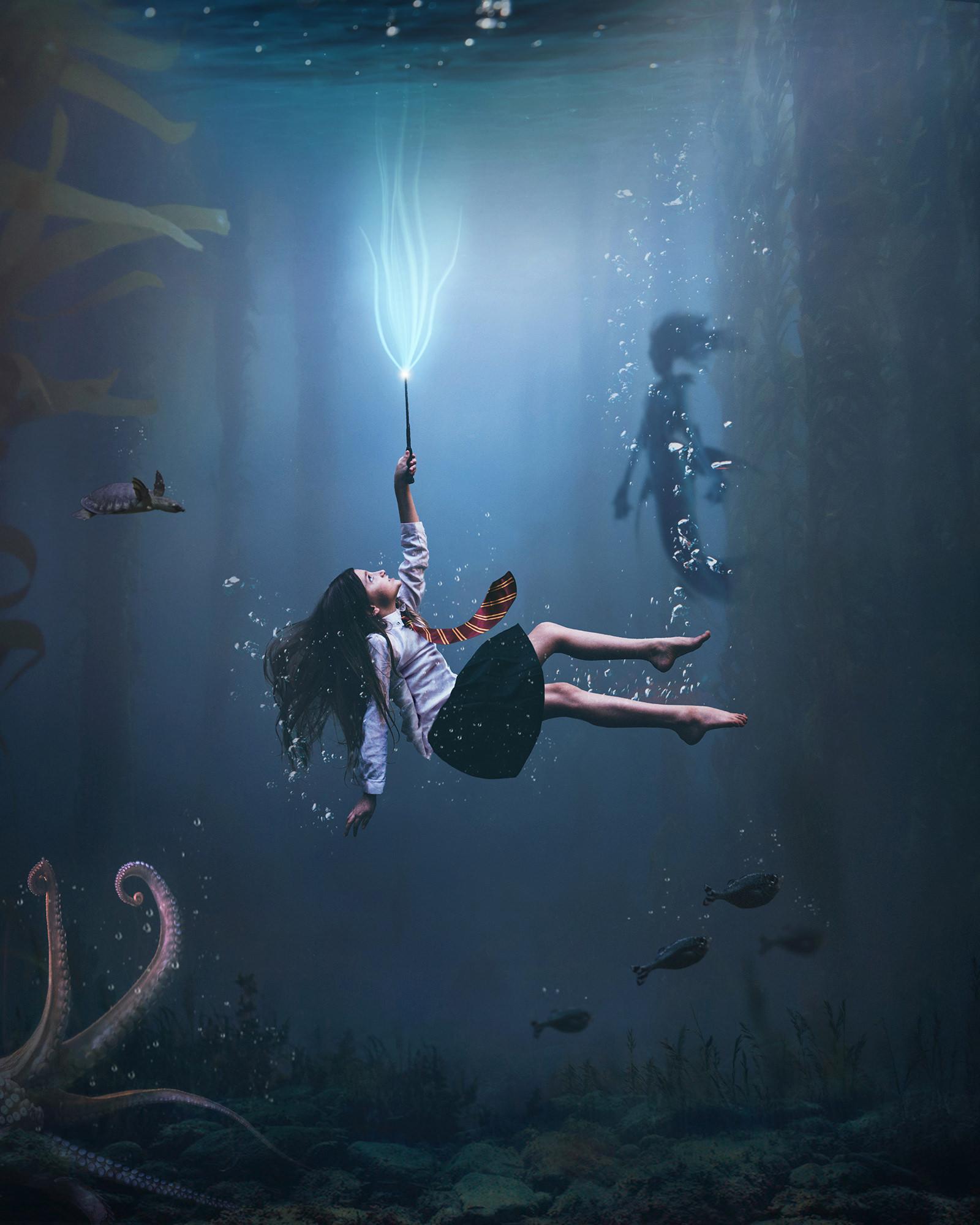 Alexandria Wand Underwater Image