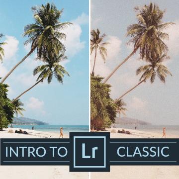 intro to lightroom classic presets