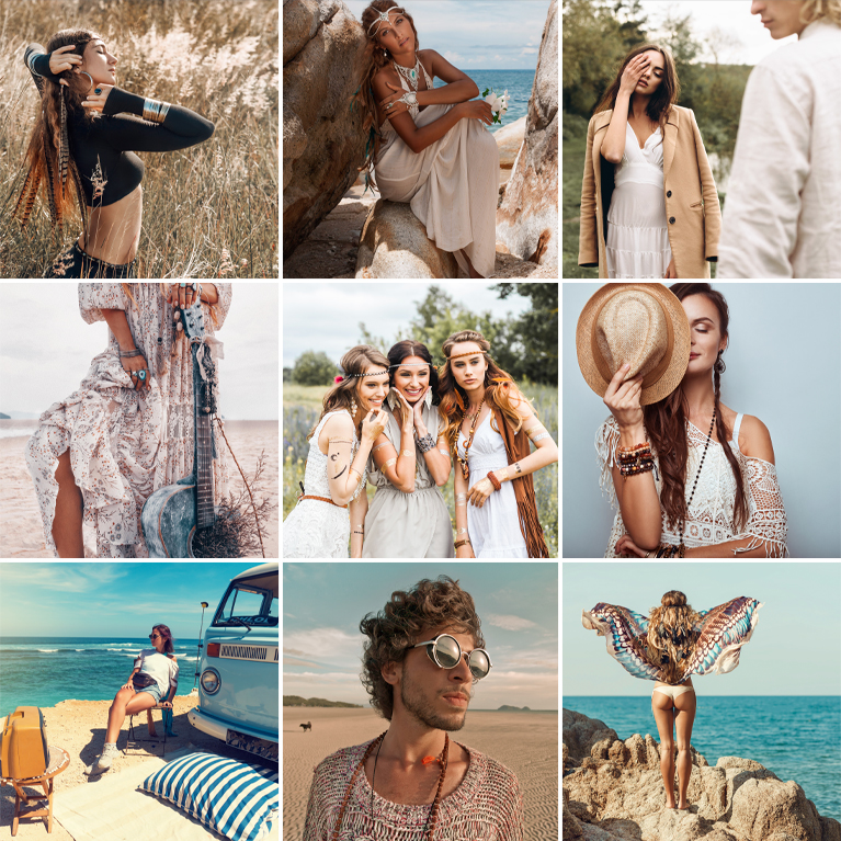 bohemian lightroom presets