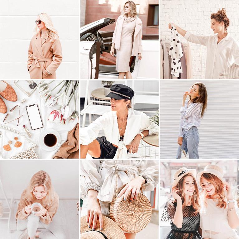 lightroom presets minimal blogger