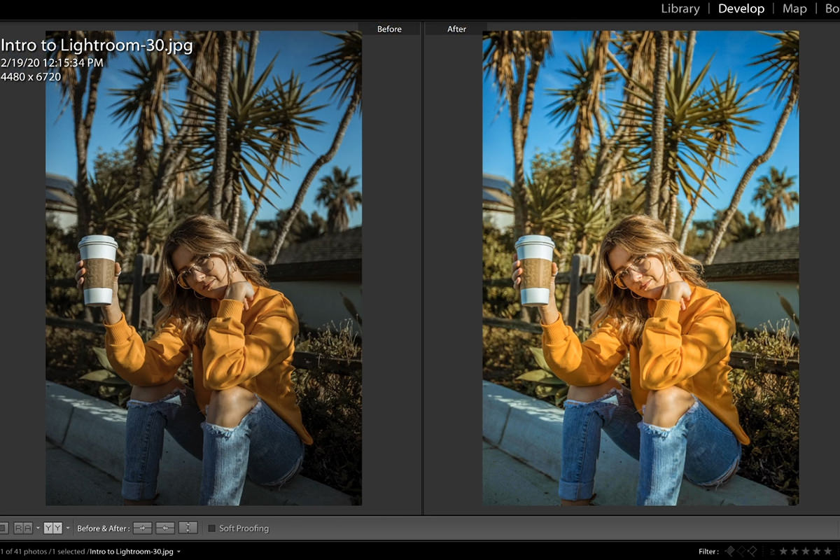 intro to lightroom classic how to edit photos