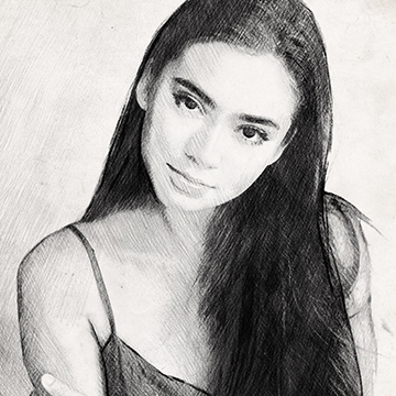 create a sketch effect in photoshop thumb