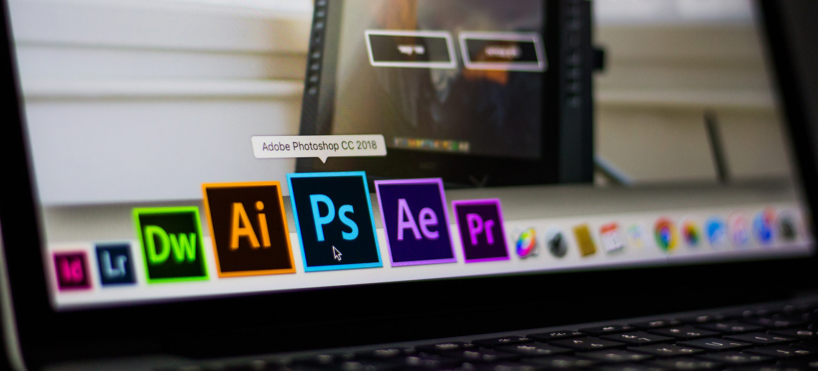 Adobe Icons Computer Screen