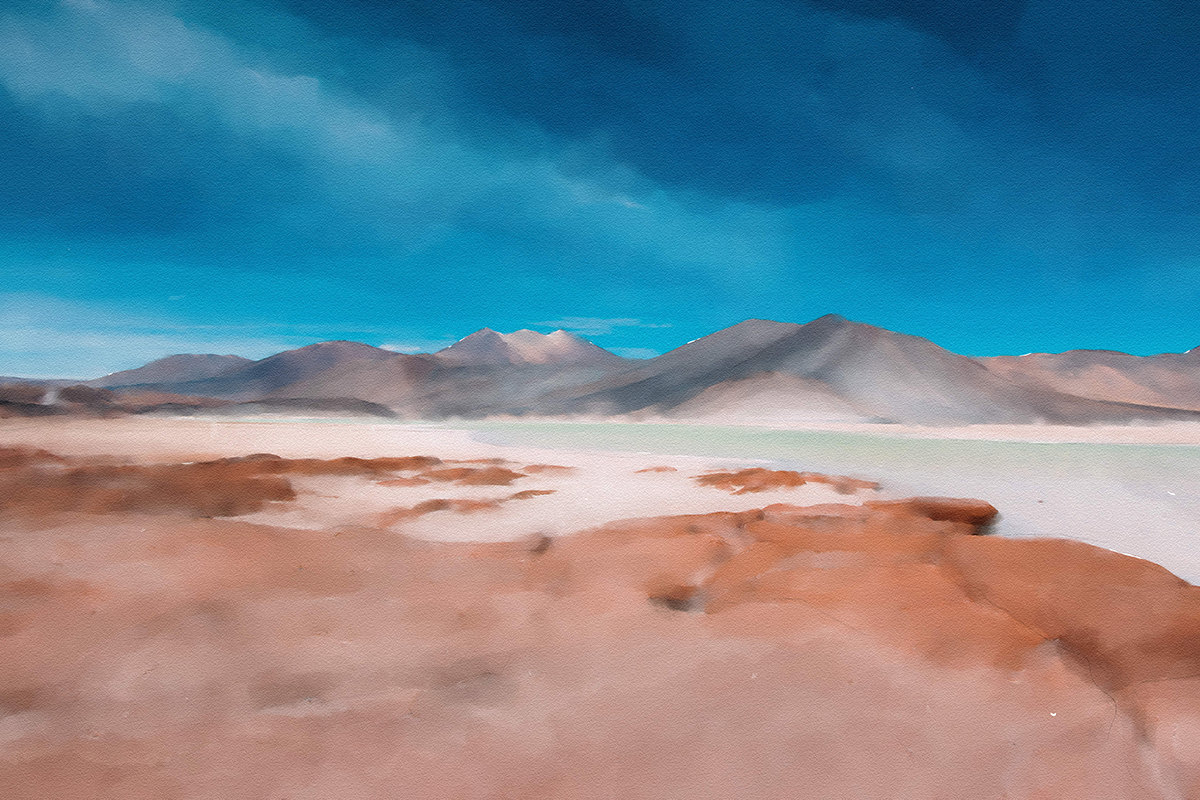watercolor paint effect in photoshop