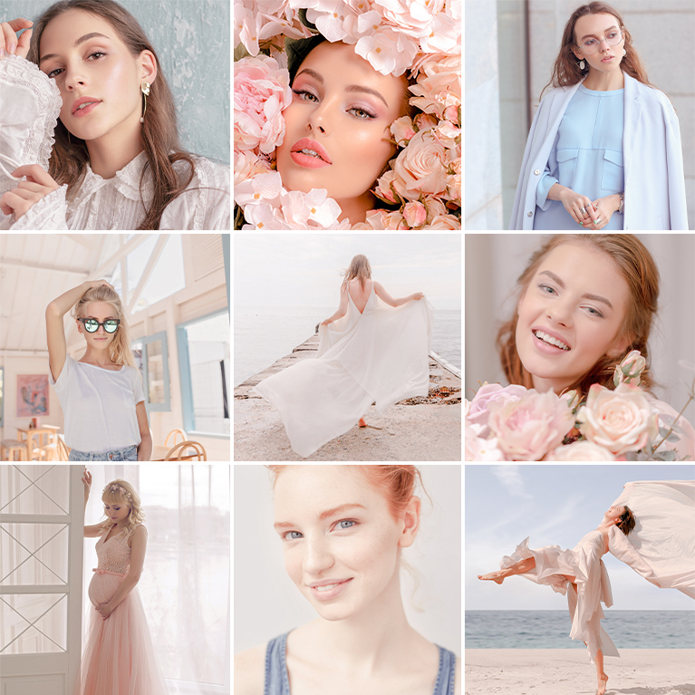 lightroom presets peachy tones