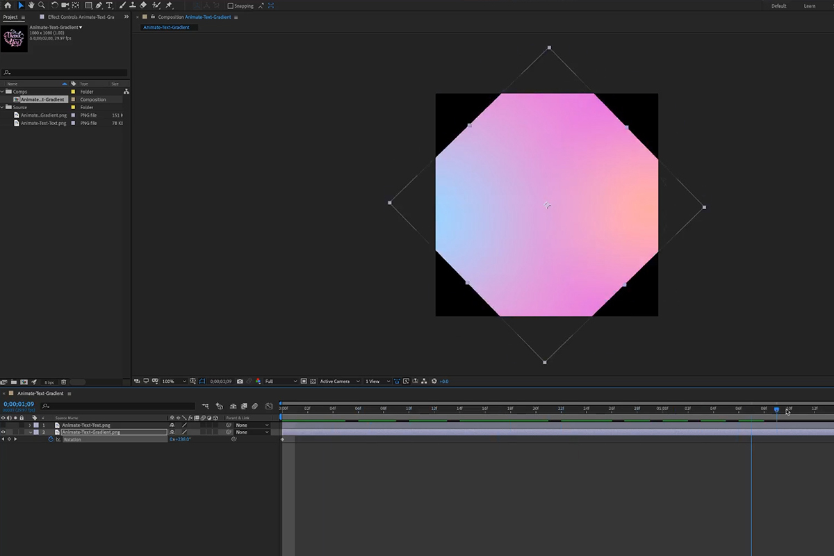 phlearn animated gradients in photoshop