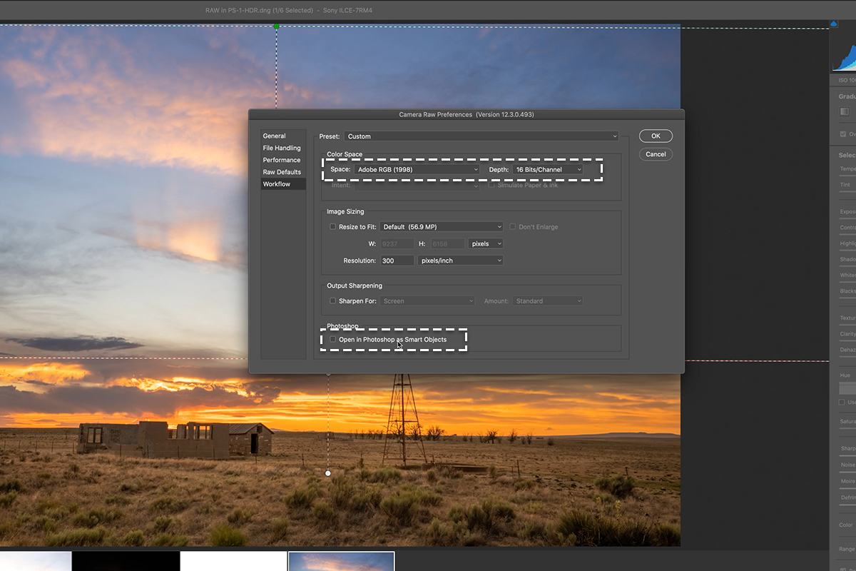 hdr raw in photoshop