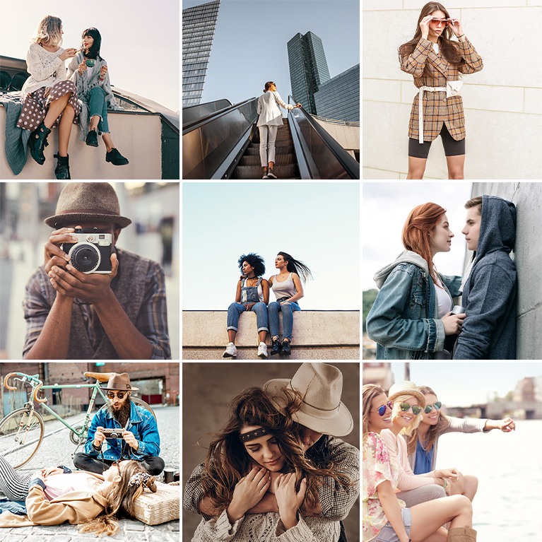 phlearn warm tones LUTs