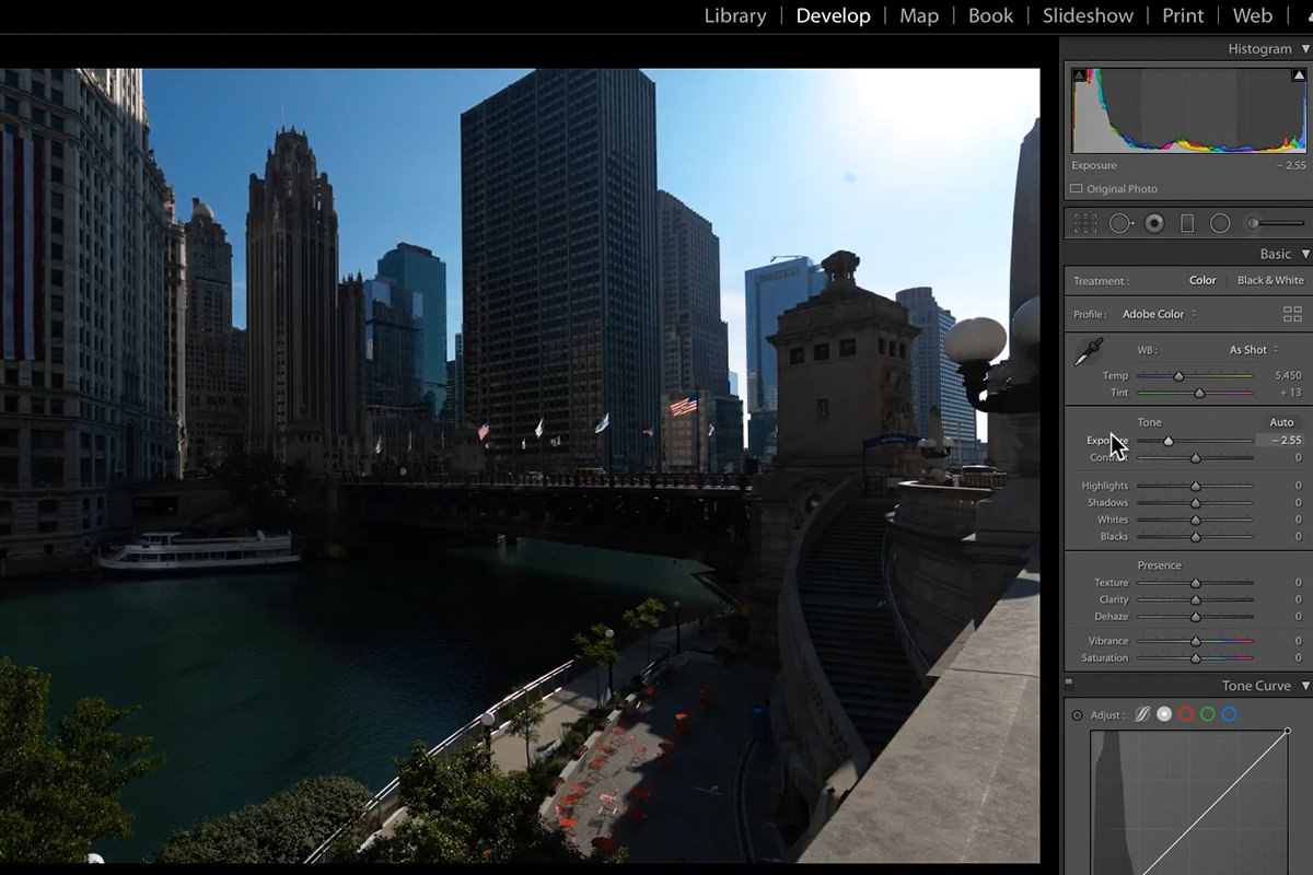 how many exposures for an hdr
