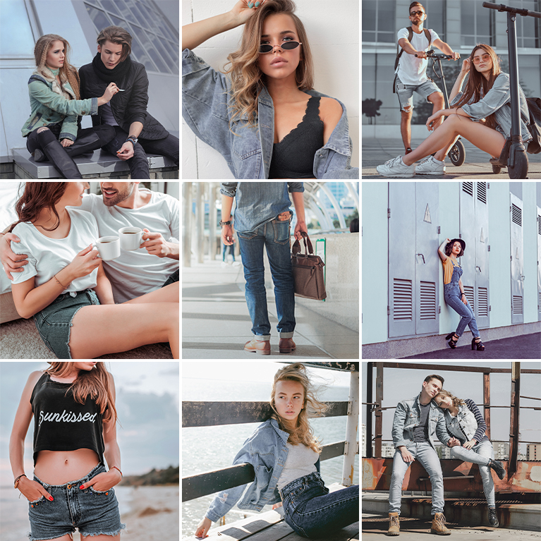 denim lightroom presets