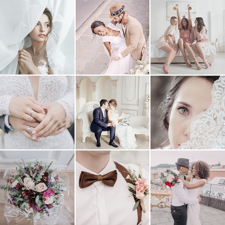 phlearn soft wedding LUTs