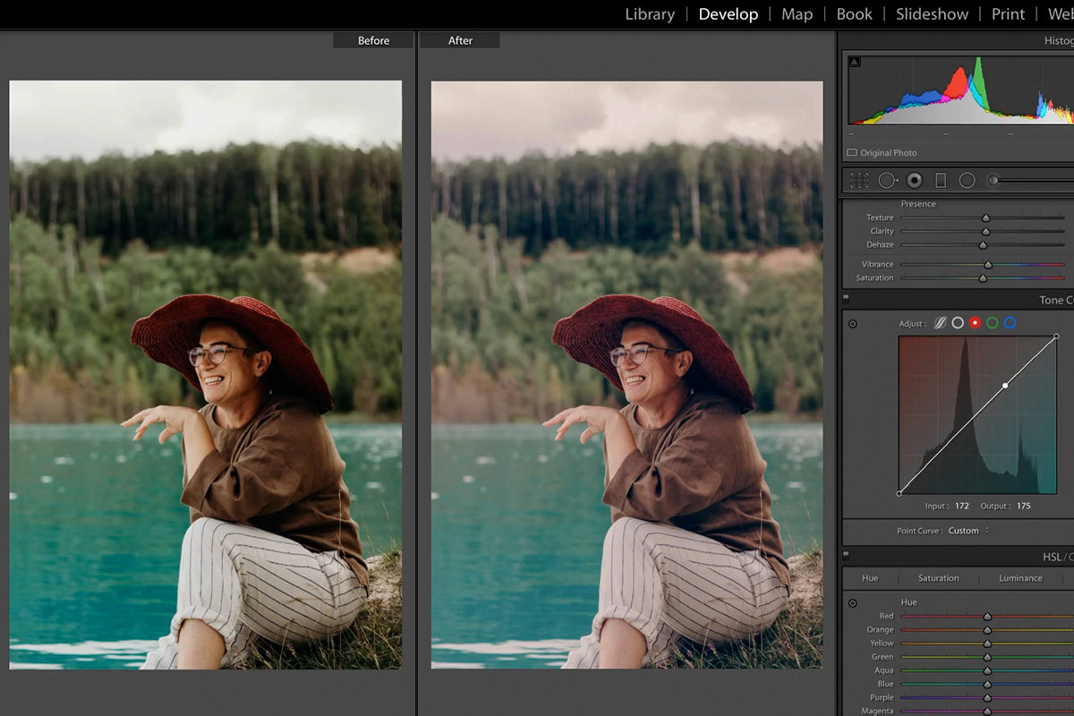 turn your looks into lightroom presets