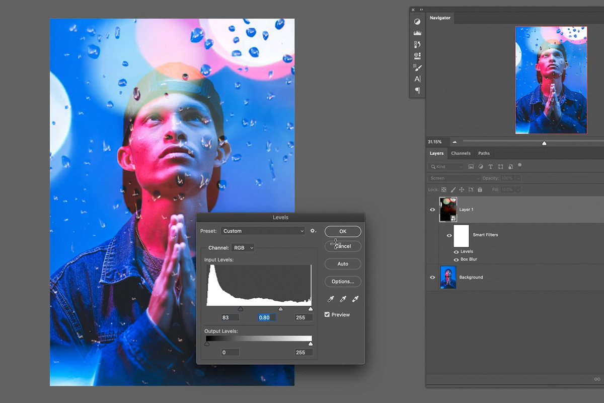 textures and overlays in photoshop