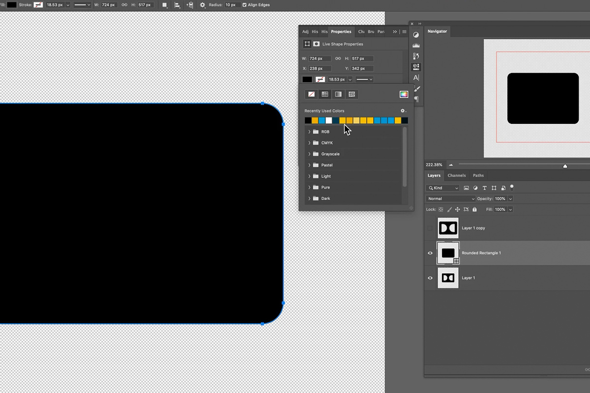 create a vector logo icon from image