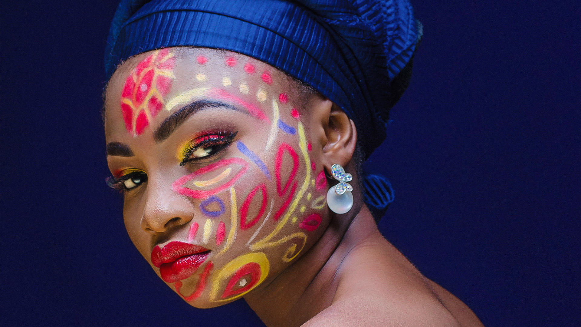 bold vibrant coloring photoshop