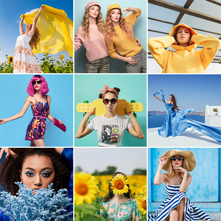 bold and vibrant color grading luts
