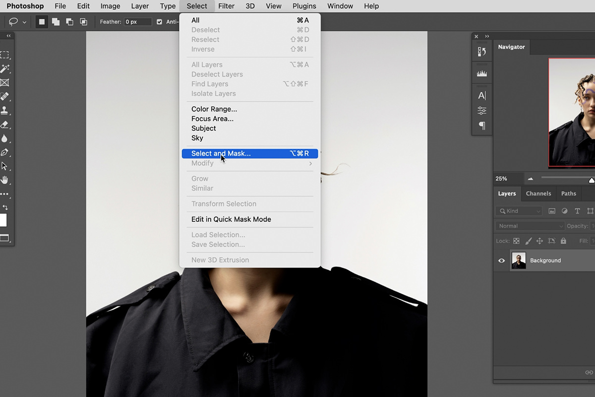5 powerful selection tools photoshop