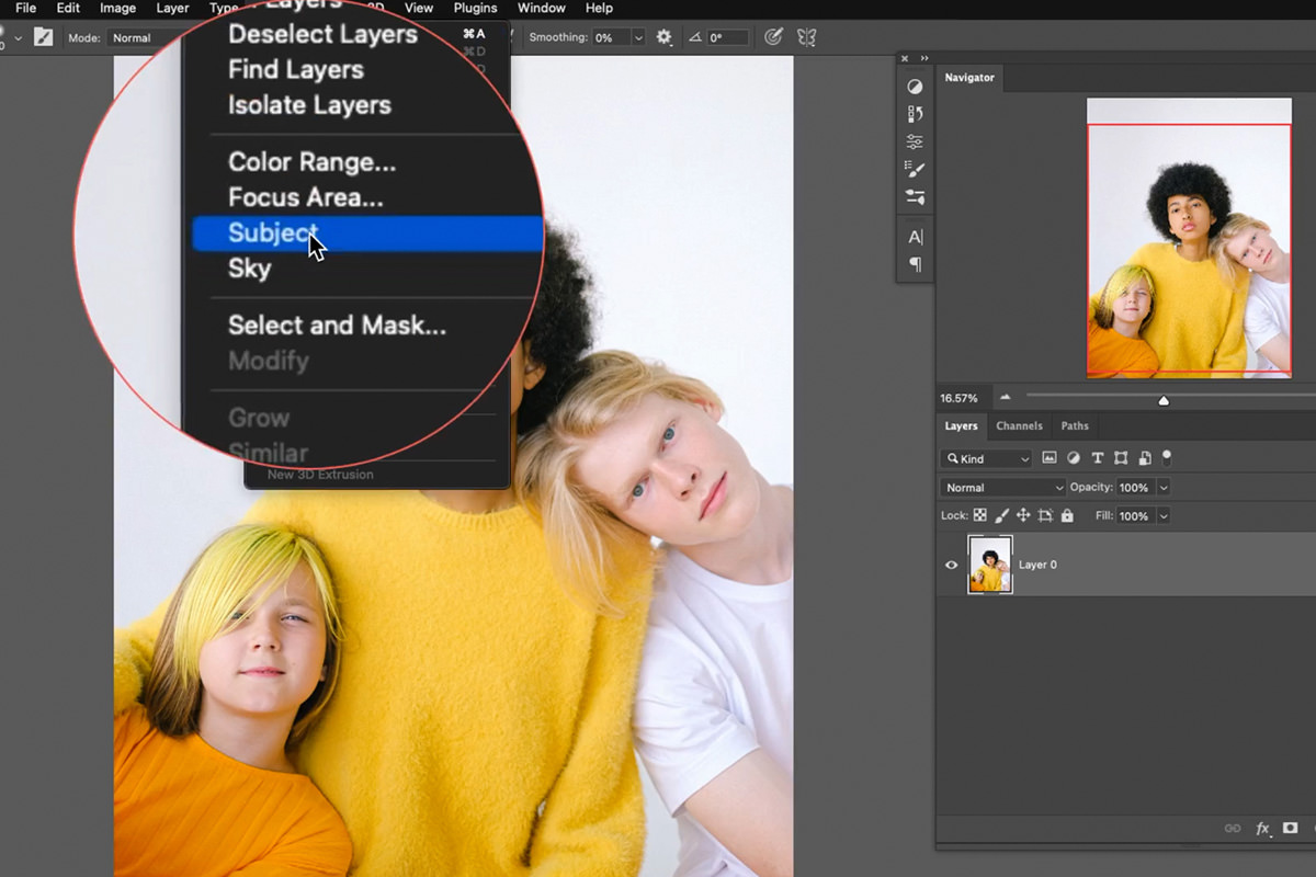 advanced selections with channels photoshop