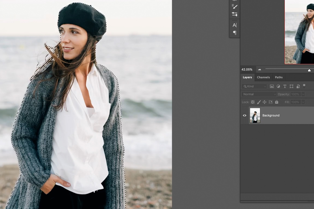 faster selections photoshop