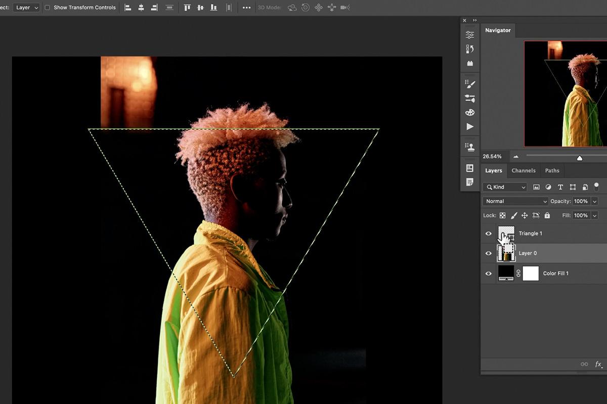 neon glow effect in photoshop