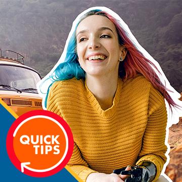 outline portrait for a thumbnail photoshop
