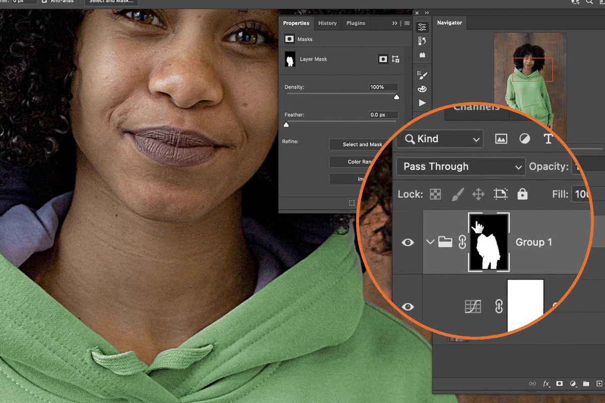 change color of clothing photoshop